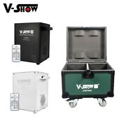 V-show 2pcs With Case 650w Cold Spark Machine Wedding Indoor Special Effect Mach