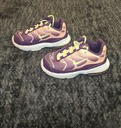 Toddler Girls Little Air Max Plus Size 8c Purple Good Condition