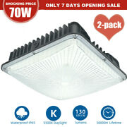 Led Canopy Light 70watt Outdoor Gas Station Shop Commerical Lighting Ip65 Rate