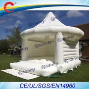 Free Air Shipping To Door,white Inflatable Wedding Jumper Bouncer Castle /jumpin