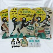 Penguin Cool 1951york Department Store Display Stand