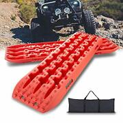 Ikuram Recovery Boards Traction Tracks Mat 2 Pcs Traction Boards Offroad With...