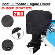 210d Oxford Waterproof Full Outboard Motor Engine Boat Cover Fit Fo