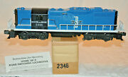 Lionel 2346 Boston And Maine Gp9 Diesel W/ Box And Instruction Sheet