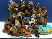 Cute Lot 23 Hanna Barbera Scooby Doo Dog Plush Toys Surfer Red Blue 3 To 23