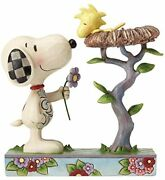 Enesco Jim Shore Snoopy And Woodstock Warming Gift 4054079