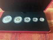 2021 Canada Our Arboreal Emblem The Maple Tree Fine Silver Fractional Set Jr144