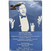 Jim Valvano Nc State Wolfpack The V Foundation Cancer Research Pin Rare