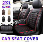 Pu Leather Car Seat Covers Set For Dodge Ram 1500 2009-2021 2500 3500 2021-2010