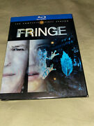Fringe The Complete First Season Blu Ray 4-disc Set Tv Show