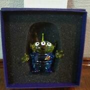 Disney Collection Toy Story Alien Crystal Figure Free Shipping