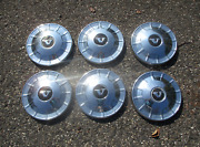 Lot Of 6 Genuine 1968 To 1972 Volvo 140 142 164 Dog Dish Hubcaps