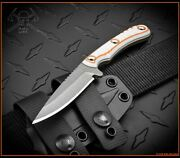 Rmj Tactical Sparrow Explore More Knife 3.5 Savage Stainless Cerakote Blade G10
