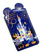 Disney World 50th Anniversary Pressed Penny Book Coin Album Mickey And Friends New
