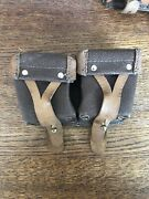 Russian Ussr Mosin Nagant Rifle Clip Ammo 7.62x54r Double Pouch 1964
