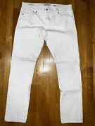 Lucky Brand Mens Jeans Size 34x32 White