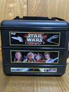 Star Wars Lunch Box Ep1 Not For Sale Vintage Collectible Black Japan