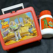 Toy Story Lunch Box Vintage Collectible Disney Buzz Lightyear Woody Japan