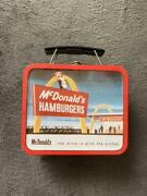Mcdonaldand039s Vintage Goods Usa Mini Lunch Box Retro Red Collectible Japan