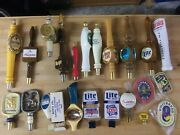 22 Peace Beer Tap Handle Lot Hammandrsquos - Olympia - Budweiser - Lowenbrau - + More