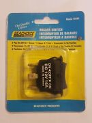 Rocker Switch Seachoice 12441 On/off/on Lighted Boat Parts 15 Amps - New