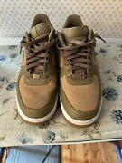 Rare🔥 Nike Air Force 1 Andlsquo07 Beechtree White Gum Brown Sz 11 315122-203