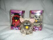 Furby 70-800 Series Electronic Toy 2 In Box With Booklet, 1 Without