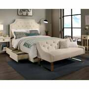 Republic Design House Steel-core Audrey Storage Bed With