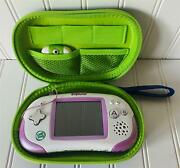 Leapfrog Leapster Explorer System Console Unit W/case And Camera /video Attachment