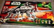 Sealed 2013 Set Lego Star Wars At-te 75019 With 5 Minifigs - Retired - New