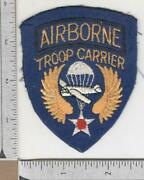 Off Uniform British Made Ww 2 Us Aaf Airborne Troop Carrier Patch Inv N654