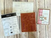 Stampin Up Press On Stamp Set Lots Of Coffee Thanks Encouragement Perks Cup Mug