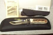Schrade Usa Dand039holder Sdho3 Beautiful Stag Rare Number 212 Nib Genuine Real Deal