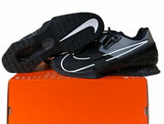 Nike Romaleos 4 Weightlifting Shoes Black Cd3463 010 Menand039s Size 8 No Lid