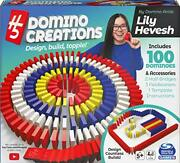 H5 Domino Creations 100-piece Set By Lily Hevesh Family Game For Adults And K...