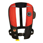Mustang Survival Md3183/02-rd/bk Mustang Hit Inflatable Pfd Automatic Red/black
