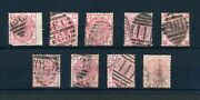 Qv Gb Sg143 / Sg144 3d Rose Set Plates 11 12 14 15 16 17 18 19 And 20 - Collection