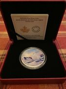 2 Oz Silver Rcm Arctic Snowy Owl Coin Northern Lights Limited Mintage 4000 - 244