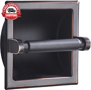 Junsun Oil Rubbed Bronze Recessed Toilet Paper Holder Wall Toilet Paper Holder R