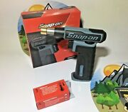 New 2021 Snap On Grey Butane Gas Torch Torch300dt Rare Platinum Fast Ship