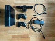 Microsoft Xbox 360 E Console Model 1538 Complete With 20+ Games And Kinect