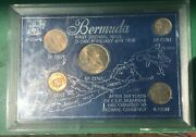 Bermuda First Decimal Issue 5 Coin Set February 6th 1970 Uncirculated