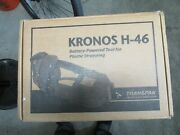 Transpak Kronos H-46 Battery Powered Strapping Tool 18v