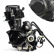 4-stroke 350cc Engine Water-cooled Single-cylinder Motor For 3 Wheel Motorcycle