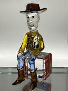 Disney Collectible Toy Story Sheriff Woody Crystal Figure F/s