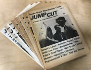 Lot Of 8 Vintage Jump Cut A Review Of Contemporary Cinema Film Newspapers