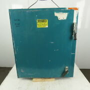 Hoffman A36sa3210lp Electrical Enclosure 36x32x10 W/back Plate And 30a Disconnect
