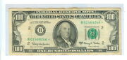 1963-a One Hundred Dollars Federal Reserve New York, Ny Star Note - Cir