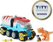 Paw Patrol - Dino Rescue Dino Patroller Patroller Team With Chase And T. Rex