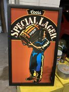 Beer Signs Lighted Vintage Coors Special Lager